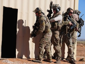 CCT team members train at Melrose Air Force Range, New Mexico. (photo credit USAF, 1st Class Airman Erika Engblom, November 11, 2012)