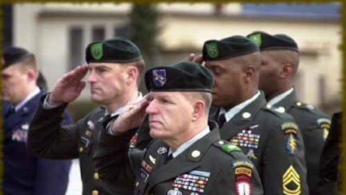 Image from Change.org petition about the SFAB Beret.