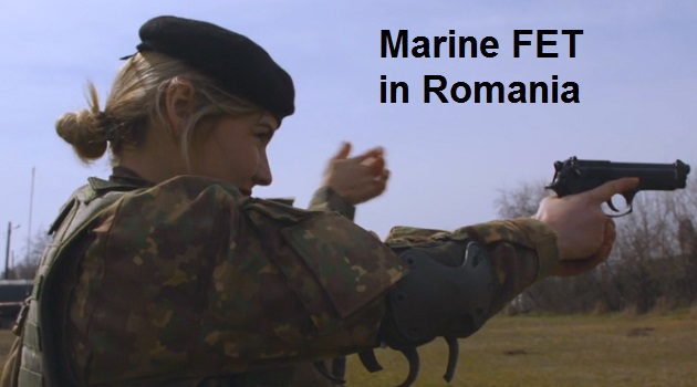 Video Marine FET - Female Engagement Team (FET) of the 26th MEU trains with Romanian FET counterparts in Romania. (video by SGT Sylvia Tapia, 26th MEU, Mar 16, 2018).