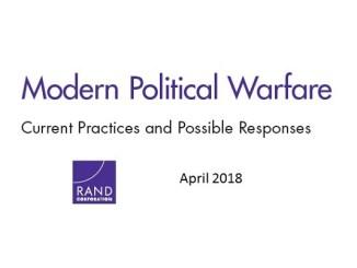 Modern Political Warfare - RAND Corporation - April 2018