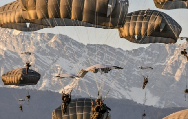 173rd Parachute Jump in Italy on March 12, 2018