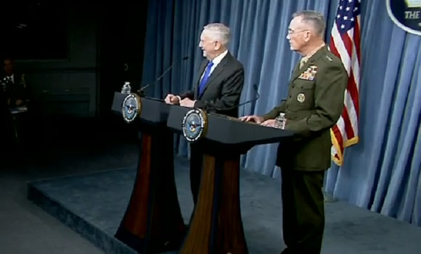 Pentagon Press Conference August 28, 2018