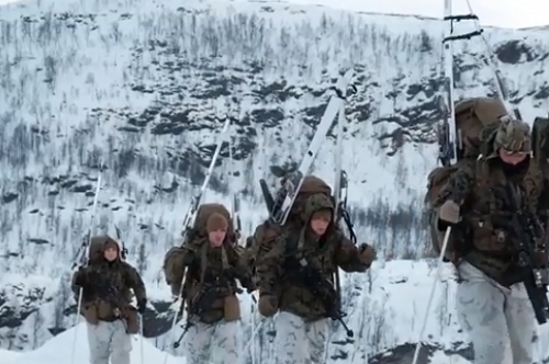 Ski Troops Trident Juncture 2018