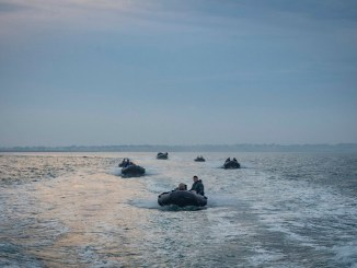 U.S. #SOF pilot small boats during bilateral training between U.S. and Spanish special operations forces and the Arleigh Burke-class guided-missile destroyer USS Porter (DDG 78), in June, 2018, near Naval Station Rota, Spain