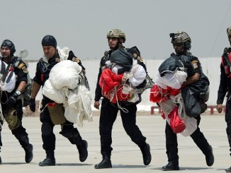 Iraqi Counter-Terrorism Service (CTS) Parachutists (SOJTF-OIR, 31 August 2018).