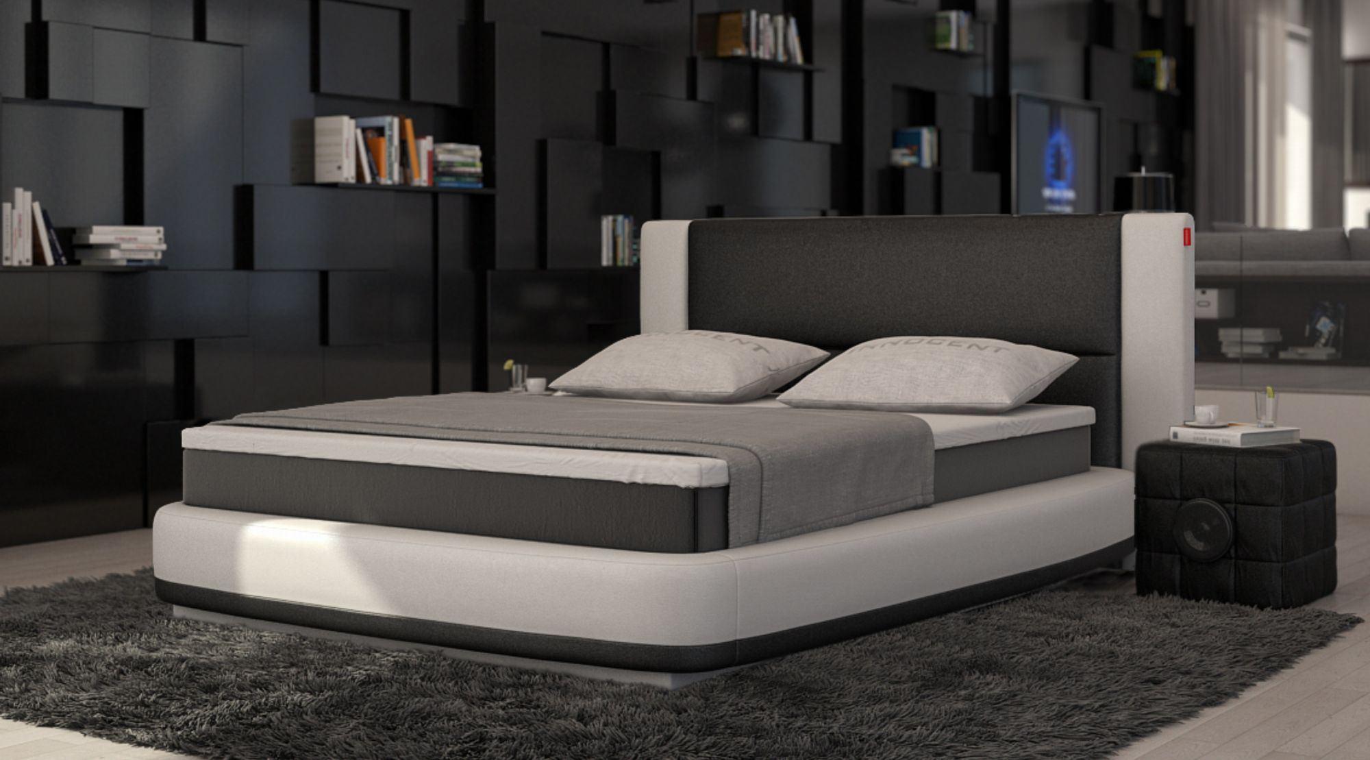 Boxspringbett AQUILA Design Luxus Polsterbett Bequemes
