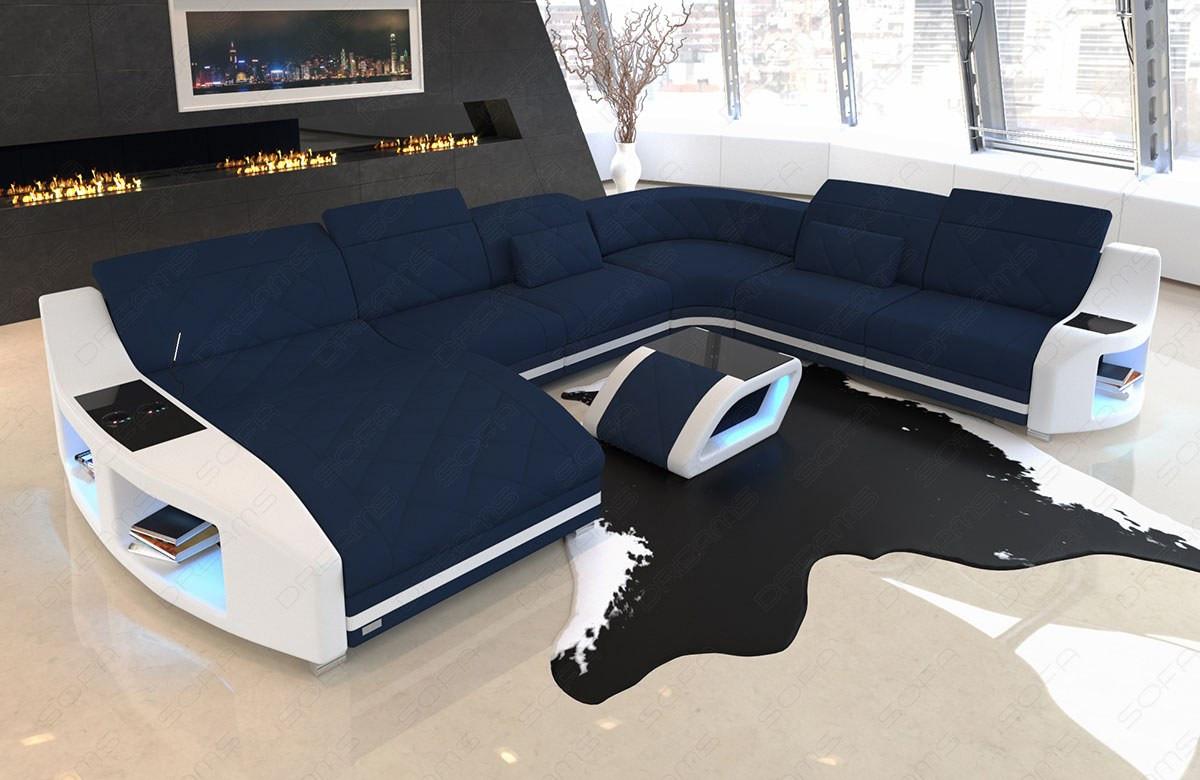 Xl Stof Modul Sofa Palm Beach Med Led Belysning Og Usb Port Sofadreams