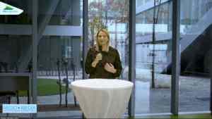 Bildungslandesrätin Daniela Winkler sprach die Eröffnungsworte.