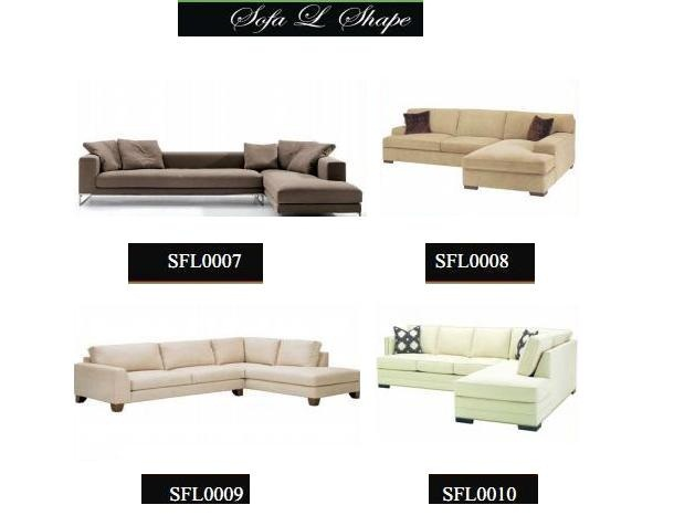 Harga sofa l shape for Sofa ideal cordoba