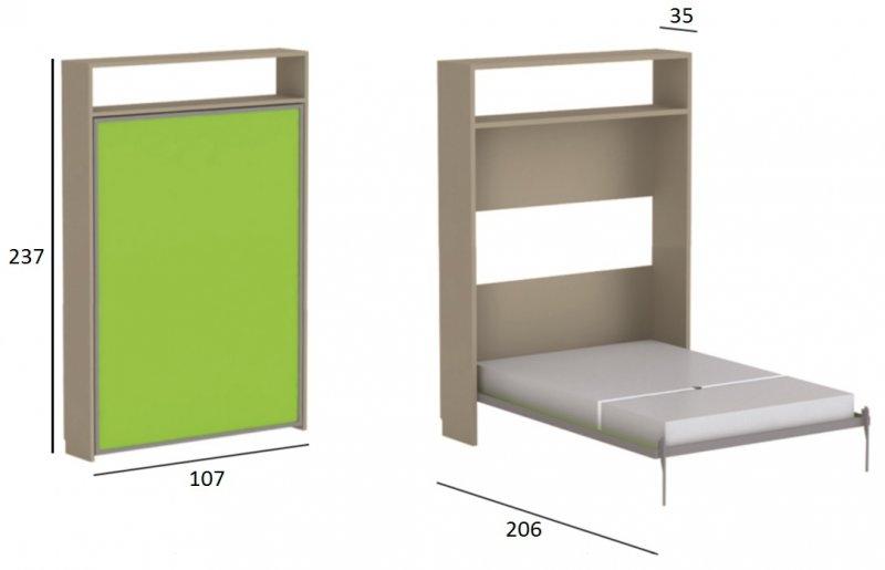 Lit Simple Escamotable Sofag