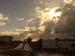 Wolkenbruch in Rabat