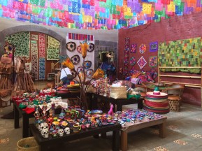 Eines der vielen Kunsthandwerksläden der Stadt