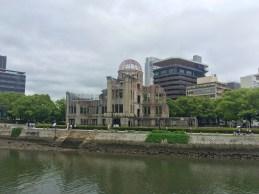 Der A-bomb dome.