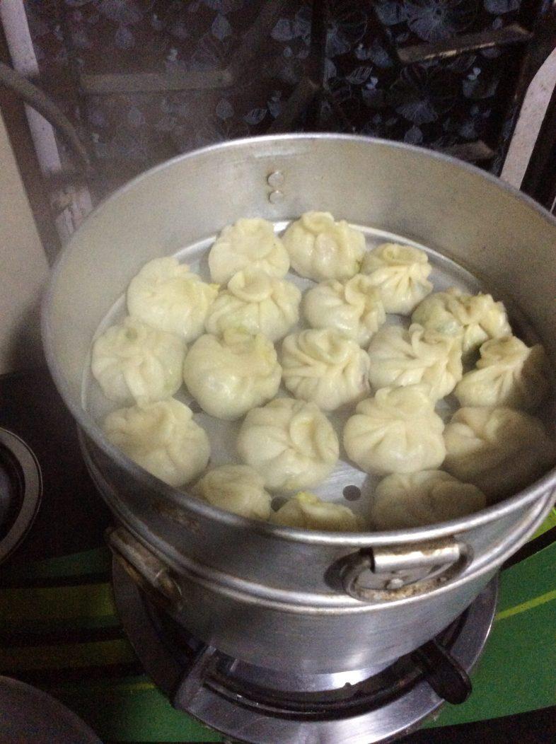 Homemade Momos, yammee