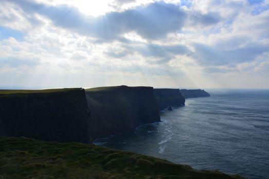 Die Cliffs of Moher - atemberaubend!