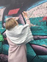 Verewigung auf der International Wall in Belfast!