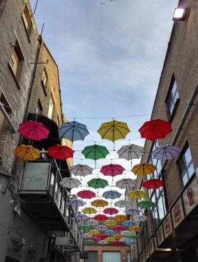Das Künstlerviertel in Dublin