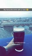 Die Touristenattraktion schlechthin: das Guiness Storehouse