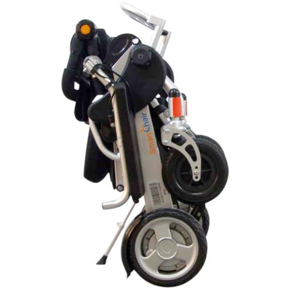 fauteuil roulant electrique pliant smartchair city xl roues arrieres 12
