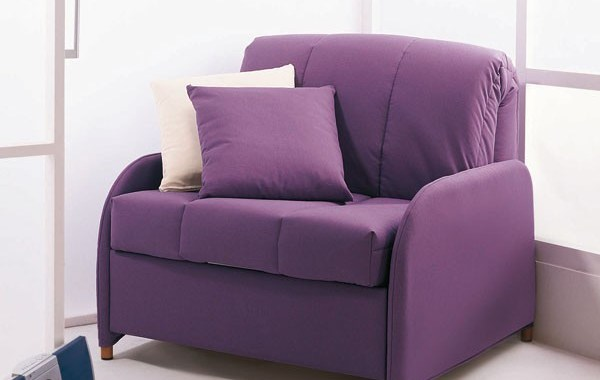 Sofa cama individual plegable for Sillon cama 1 plaza plegable