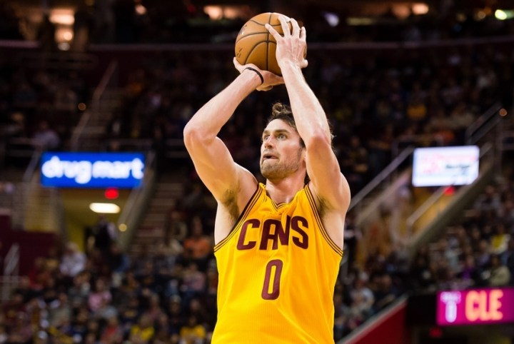 Kevin Love Sets An Nba Record 34 Points In The First Quarter