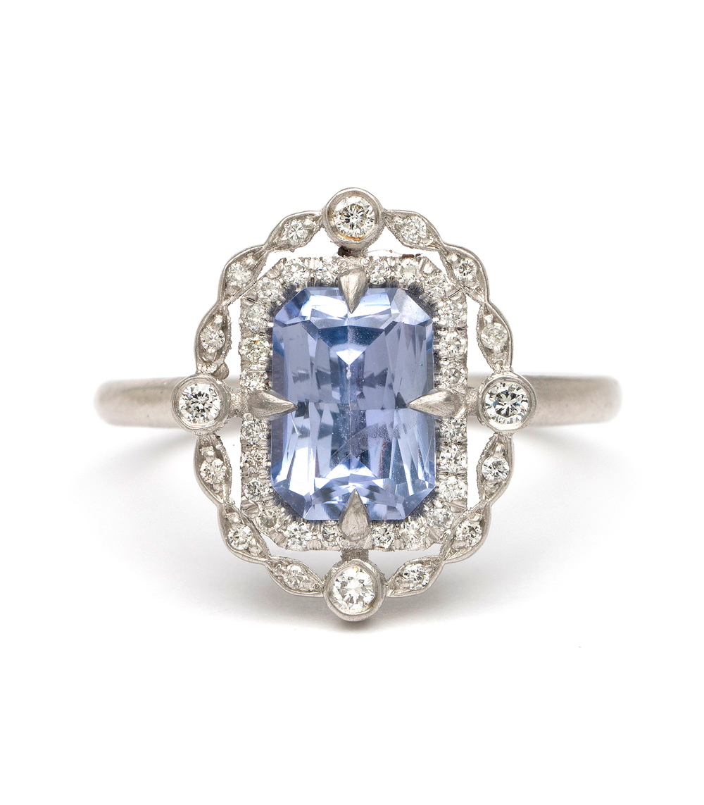 One Of A Kind Sapphire Deco Decadence