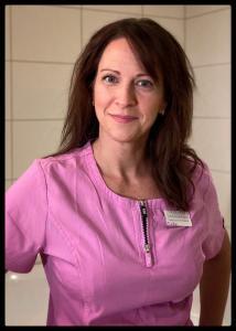 Sofia Gustavsson,  diplomerad medicinsk fotterapeut