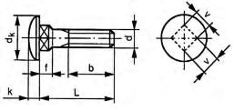 Sans ecrou hexagonale metrique 2