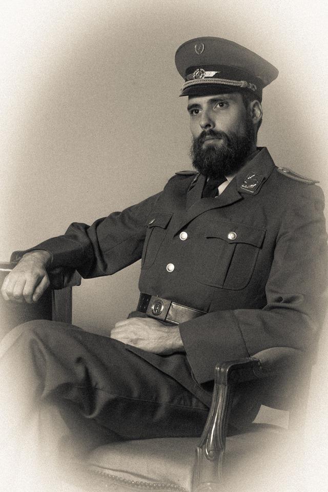 Man i uniform