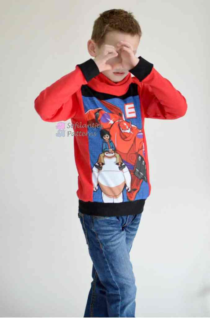 Big hero 6 Semper Sweater 8