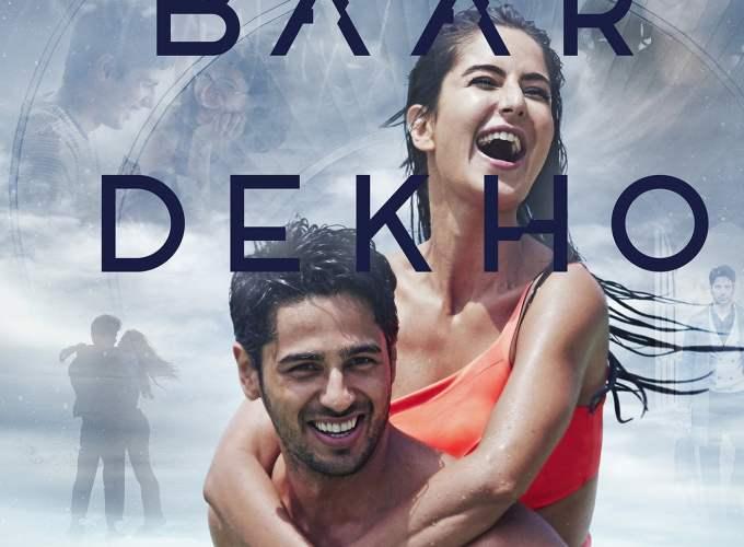 "Poster for the movie ""Baar Baar Dekho"""