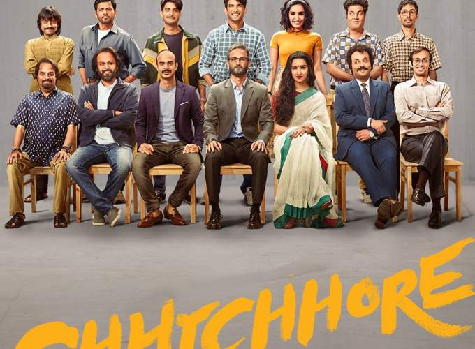 """Poster for the movie """"Chhichhore"""""""