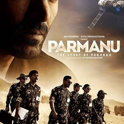 "Poster for the movie ""Parmanu: The Story of Pokhran"""
