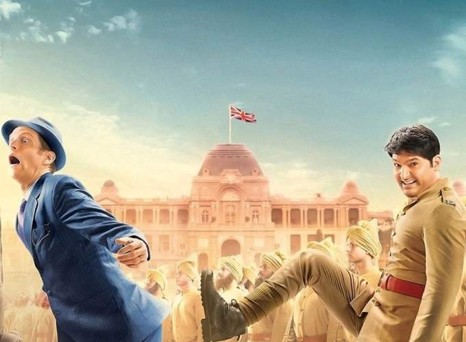 "Poster for the movie ""Firangi"""