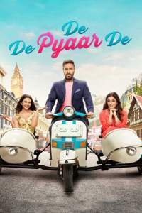 "Poster for the movie ""De De Pyaar De"""
