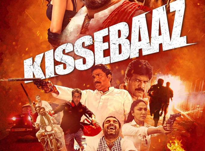 "Poster for the movie ""Kissebaaz"""