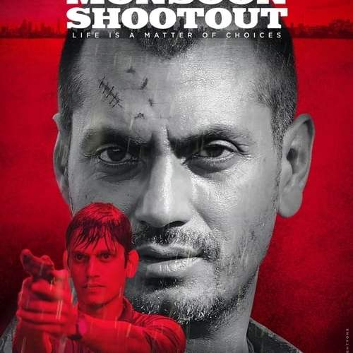 "Poster for the movie ""Monsoon Shootout"""