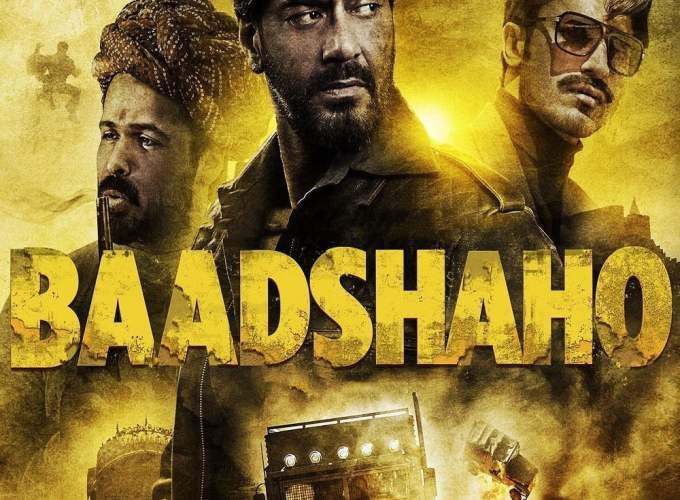 "Poster for the movie ""Baadshaho"""