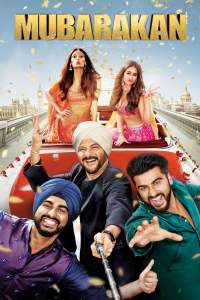 "Poster for the movie ""Mubarakan"""