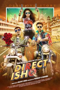 "Poster for the movie ""Direct Ishq"""