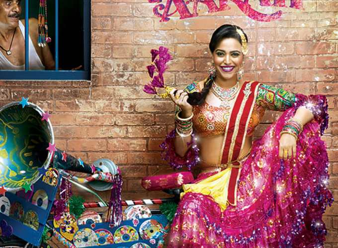 "Poster for the movie ""Anaarkali of Aarah"""