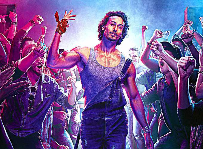 """Poster for the movie """"Munna Michael"""""""