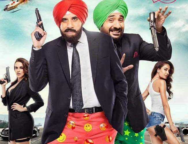 """Poster for the movie """"Santa Banta Pvt Ltd"""""""