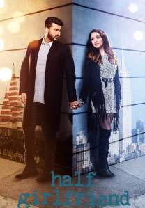 """Poster for the movie """"Half Girlfriend"""""""