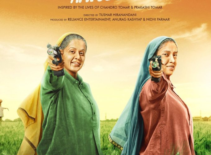 """Poster for the movie """"Saand Ki Aankh"""""""