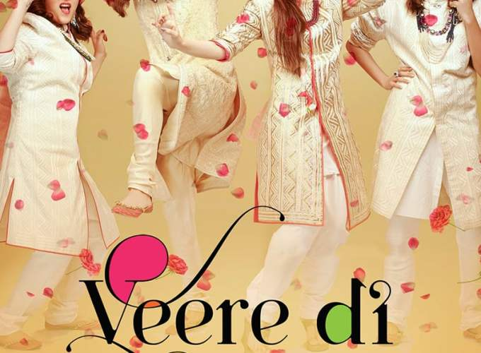 "Poster for the movie ""Veere Di Wedding"""