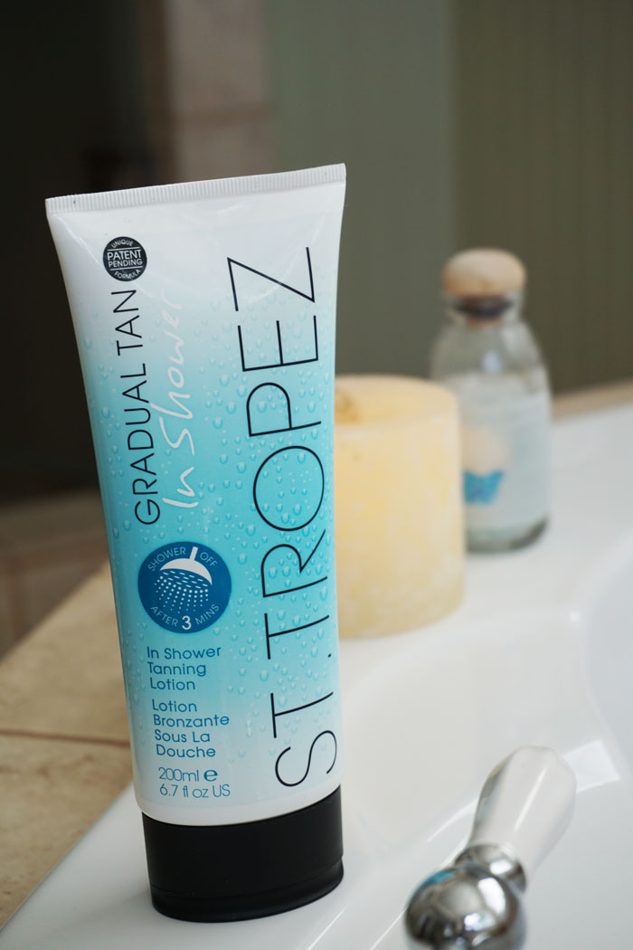 St. Tropez In Shower Tanning Lotion