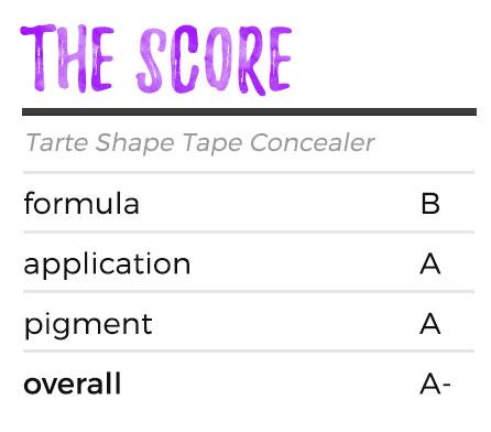 Tarte Shape Tape Concealer - Score