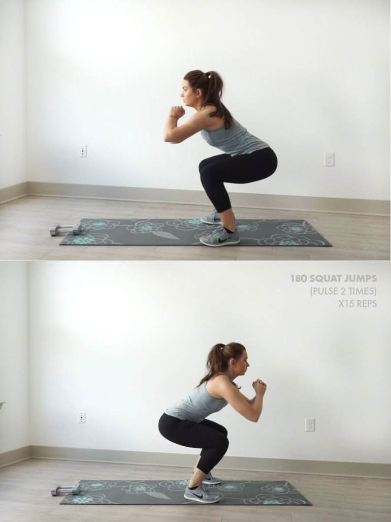 20-Minute At Home Leg and Butt Workout |
