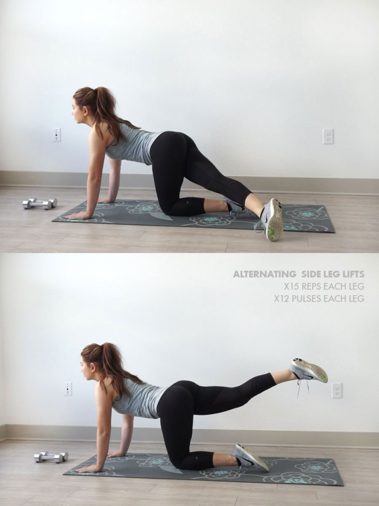 20-Minute At Home Leg and Butt Workout | Leg Lifts